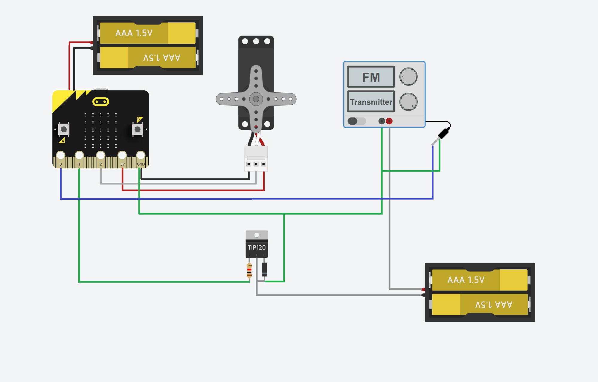 With a great many connections comes a great mass of wires. The housing for the Pirate Box had to be big enough to accommodate not only its components but also the mass of wires.