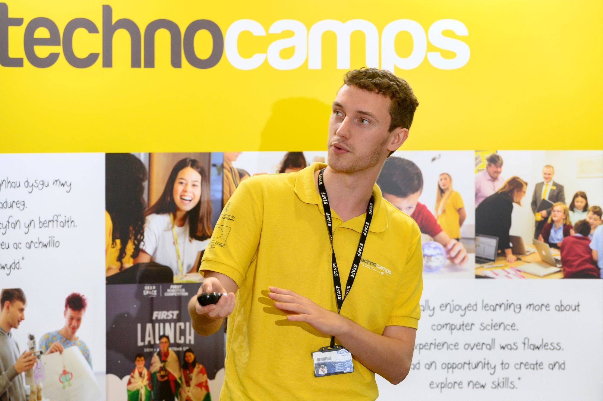 Main Image - Technocamps is a pan-Wales project delivering free workshops for schools